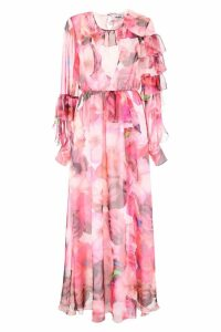 MSGM Floral-printed Dress