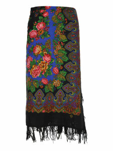 Vetements Vetements Scarf Style Skirt