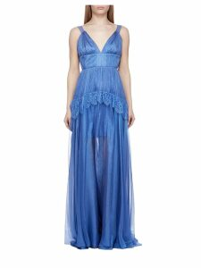 Maria Lucia Hohan Flared Lace Dress