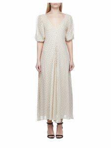 Ganni V-neck Dress