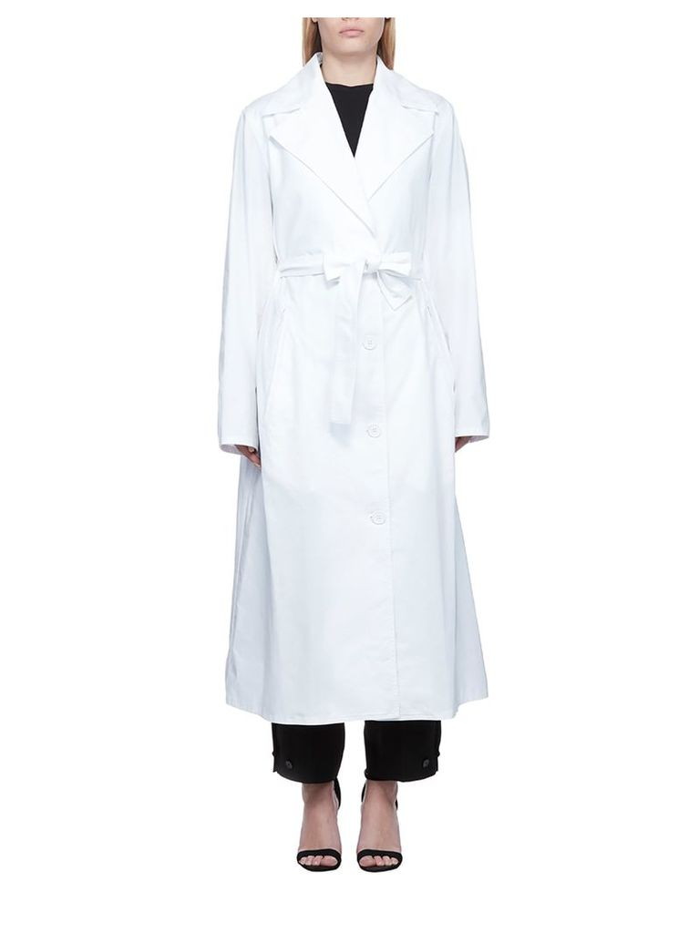 Mm6 Maison Margiela Belted Long Coat
