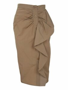 Max Mara Taffeta Skirt