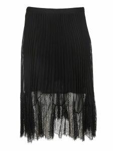 Mcq Alexander Mcqueen Tonal Lace Skirt