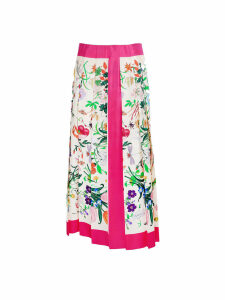 Gucci silk skirt