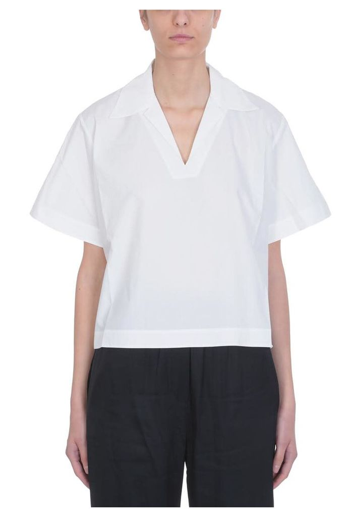 Acne Studios White Cotton Sasha Topwear