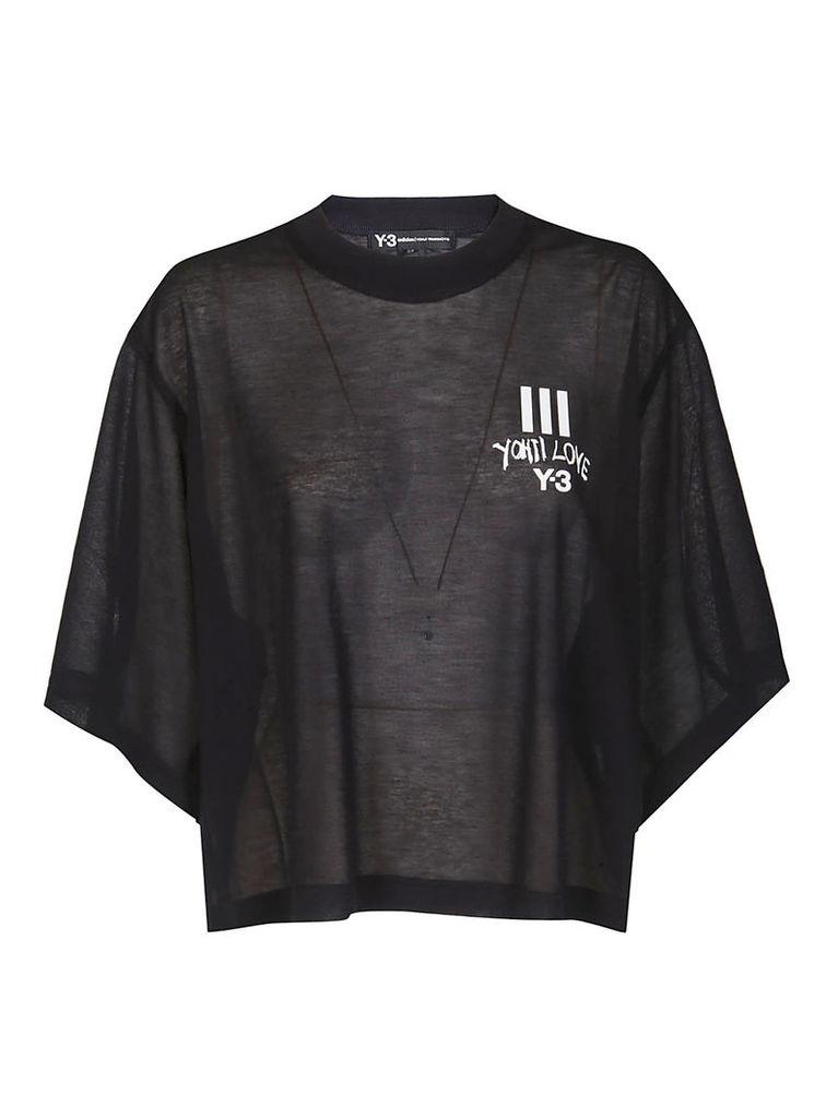 Y-3 Cropped T-shirt
