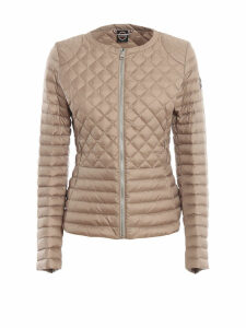 Colmar Beige Quilted Nylon Puffer Jacket