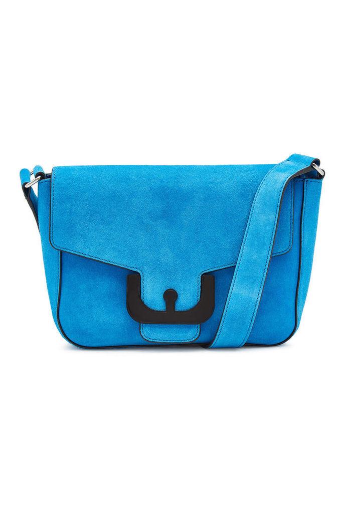 Coccinelle Ambrine Suede Crossbody Bag