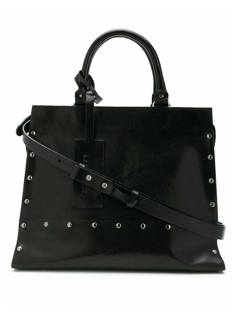 A.F.Vandevorst stud medium tote bag - Black