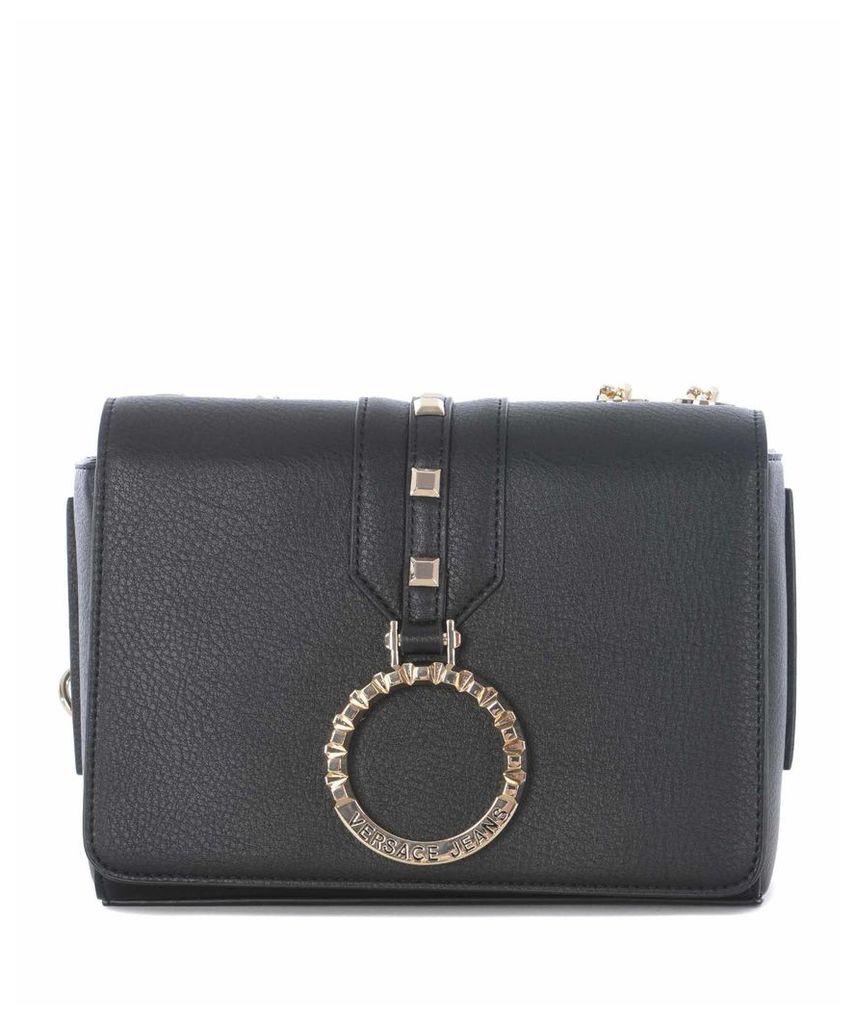 Versace Logo Ring Shoulder Bag