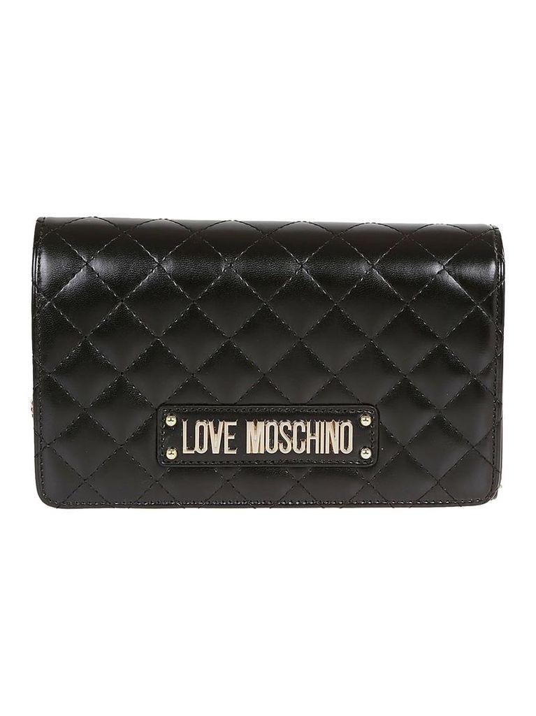 Love Moschino Logo Shoulder Bag