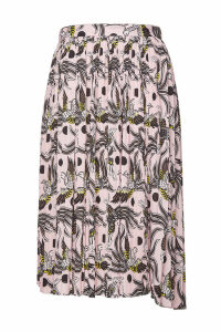 Kenzo Printed Pleated Skirt