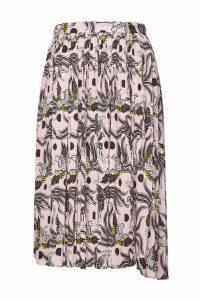 Kenzo Printed Pleated Skirt