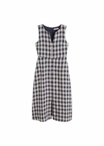 Vichy check dress