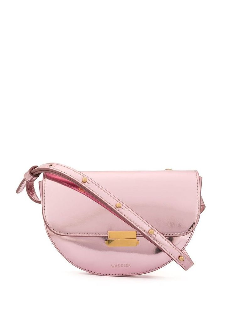 Wandler Anna buckle mini bag - Pink