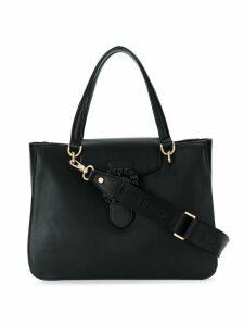 Liu Jo top-handle buckle tote - Black