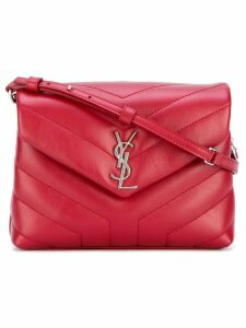 Saint Laurent Monogram Pouch bag - Red
