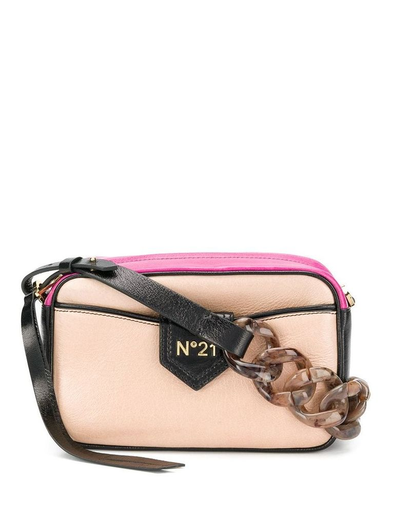 Nº21 chain should bag - Neutrals