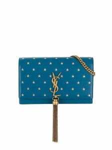 Saint Laurent Kate tassel chain bag - Blue