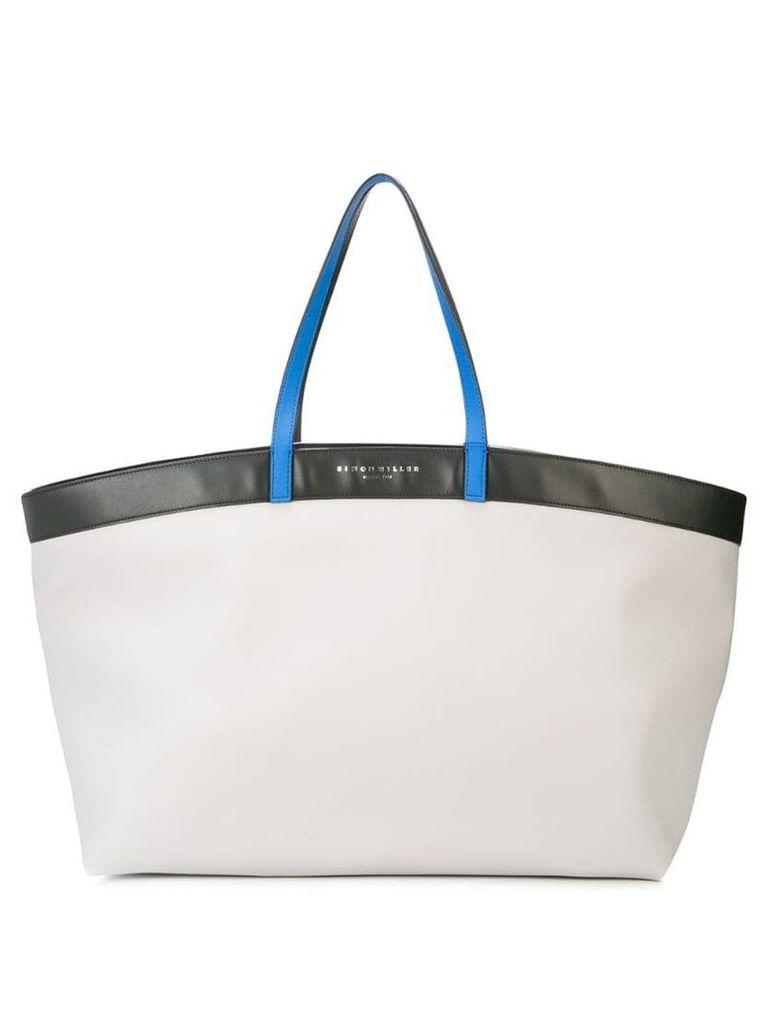 Simon Miller oversized tote bag - White