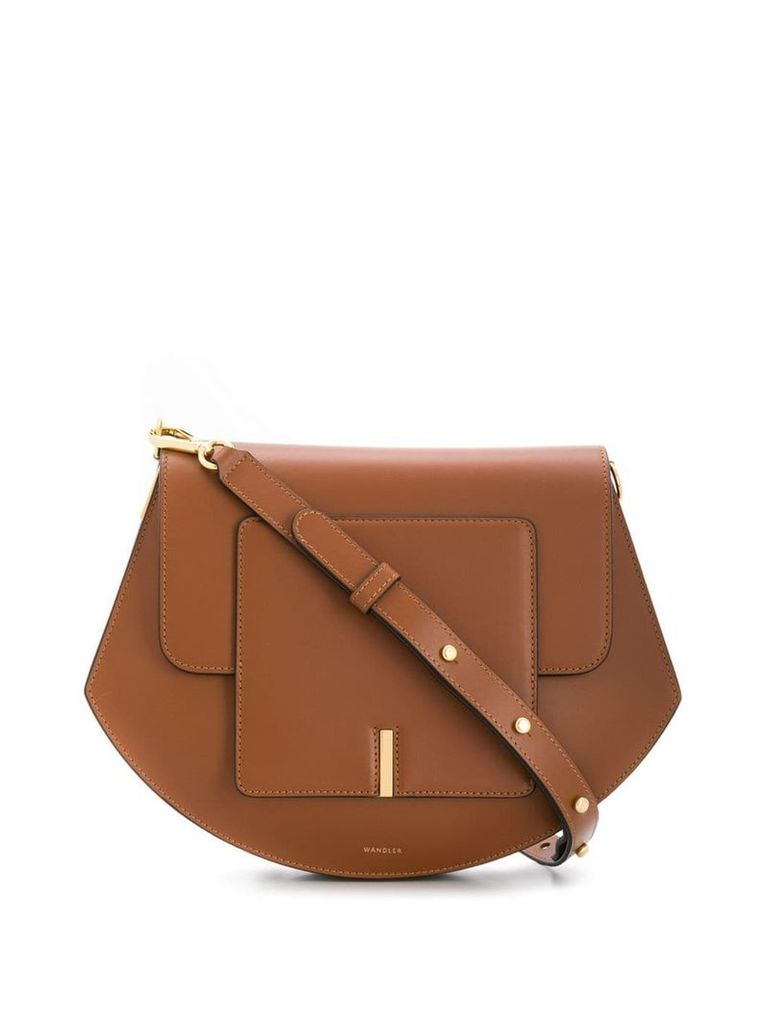 Wandler Al shoulder bag - Brown