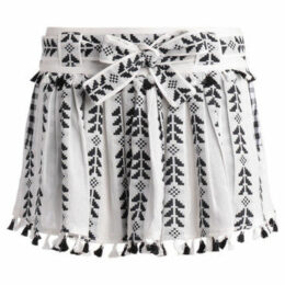 Dodo Bar Or  Ariana black and white skirt  women's Skirt in White