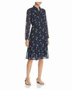 Vero Moda Piana Ruffed Floral-Print Dress