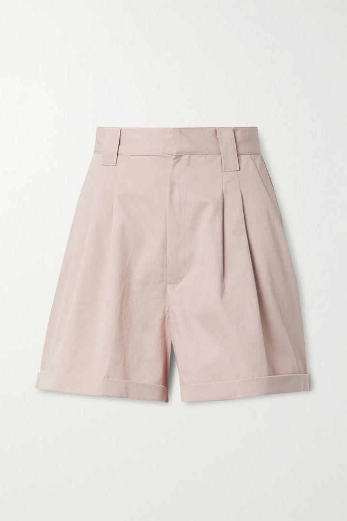 Diane von Furstenberg - Kiara Printed Cotton And Silk-blend Midi Dress - Blue