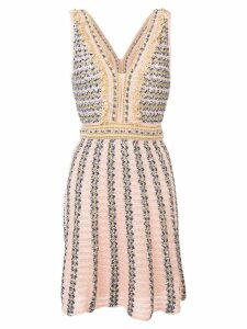 M Missoni intarsia knit dress - Pink