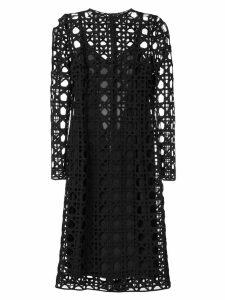 Dolce & Gabbana cut out detail dress - Black