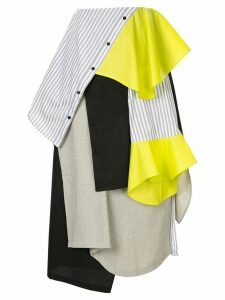 Enföld deconstructed shirt skirt - Multicolour
