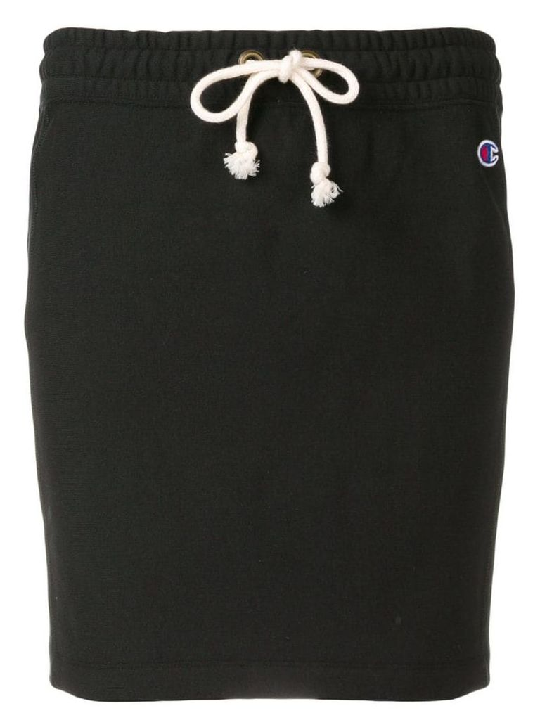 Champion embroidered logo track skirt - Black