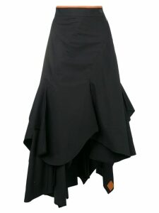 Loewe draped skirt - Black