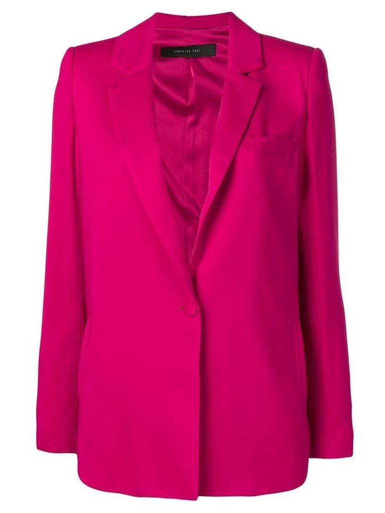 Federica Tosi single breasted blazer - Pink