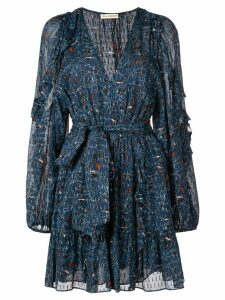 Ulla Johnson printed mini dress - Blue