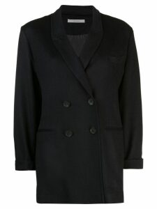 Dusan double breasted loose jacket - Blue