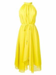 Saloni asymmetric dress - Yellow
