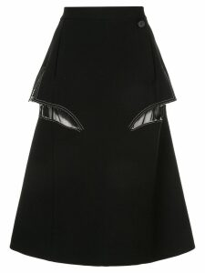 Maison Margiela Décortiqué midi skirt - Black