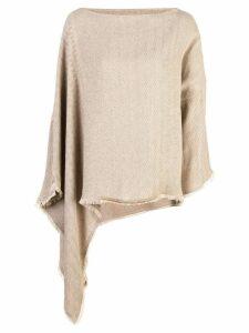 Dusan asymmetric knit sweater - Brown