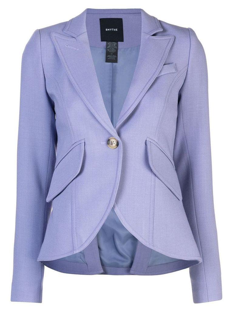 Smythe single-breasted blazer - Purple
