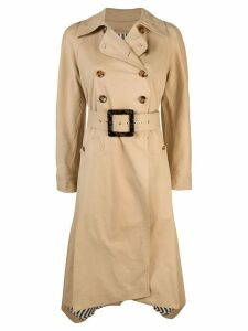 Staud buckled trench coat - Neutrals