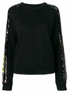 Iceberg sequin embroidered jumper - Black