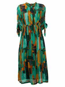 Roseanna printed midi dress - Blue