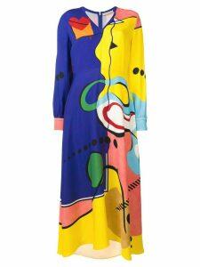 Mary Katrantzou Street Spirit dress - Blue