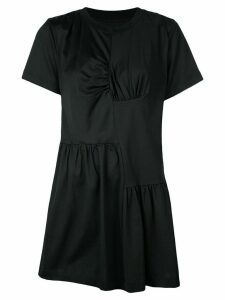 Marques'Almeida gathered front T-shirt dress - Black