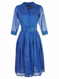 Samantha Sung polka dot printed dress - Blue