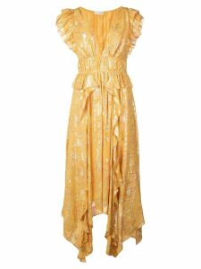 Ulla Johnson floral print dress - Yellow