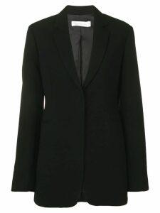 Victoria Beckham concealed front blazer - Black