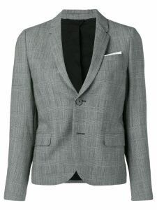 Neil Barrett Prince of Wales check blazer - Grey