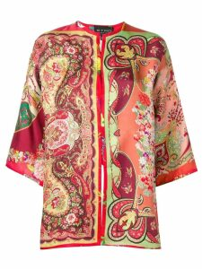 Etro flared sleeve jacket - Orange